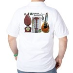 Antique Mandolute Golf Shirt