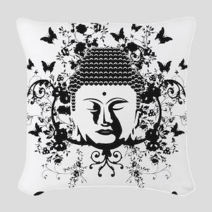 Buddha Cambodia Woven Throw Pillow