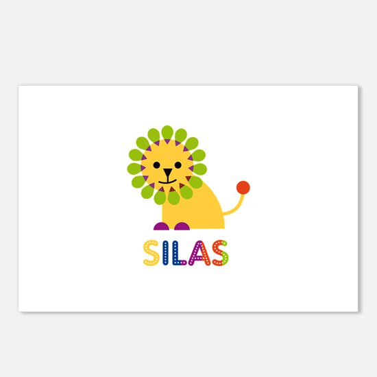 Silas Loves Lions Postcards (Package of 8)