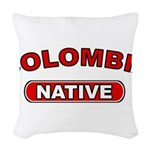 Colombia Native Woven Throw Pillow