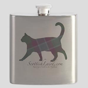 The Dunans Tartan Cat Flask