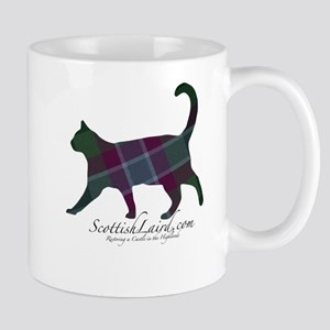The Dunans Tartan Cat Mug