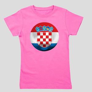 Croatia Football Girl's Tee