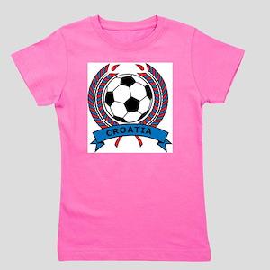Soccer Croatia Girl's Tee