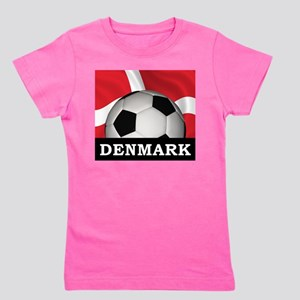 Denmark Football Girl's Tee