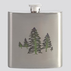 EMERALD TIES Flask