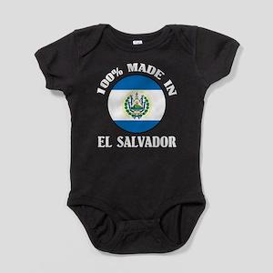 Made In El Salvador Baby Bodysuit