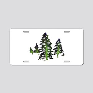 EMERALD TIES Aluminum License Plate