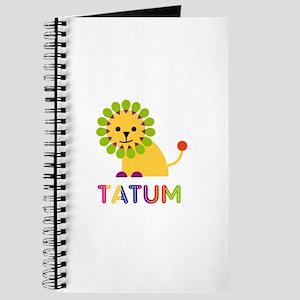 Tatum Loves Lions Journal