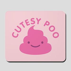 Cutesy Poo Mousepad