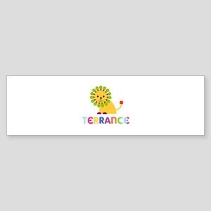 Terrance Loves Lions Bumper Sticker