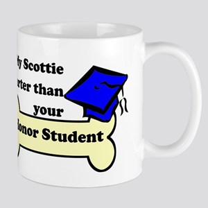 My Scottie Is Smarter Than Your Honor Student Mug