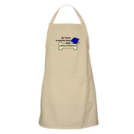 My Vizsla Is Smarter Than Your Honor Student Apron