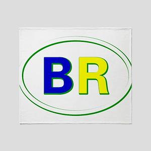 Brazil Throw Blanket