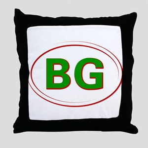 Bulgaria Throw Pillow