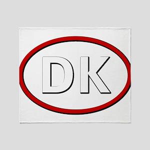 Denmark Throw Blanket