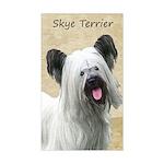 Skye Terrier Sticker (Rectangle)