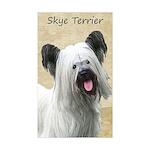 Skye Terrier Sticker (Rectangle 10 pk)