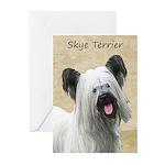 Skye Terrier Greeting Cards (Pk of 10)