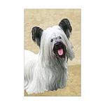 Skye Terrier Mini Poster Print