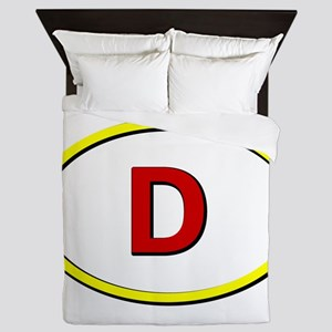 Germany Queen Duvet