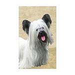 Skye Terrier Sticker (Rectangle 50 pk)