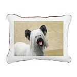 Skye Terrier Rectangular Canvas Pillow