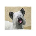 Skye Terrier Throw Blanket