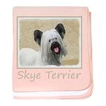 Skye Terrier baby blanket