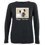 Skye Terrier Plus Size Long Sleeve Tee