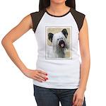 Skye Terrier Junior's Cap Sleeve T-Shirt