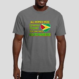 Guyanese flag designs Mens Comfort Colors Shirt