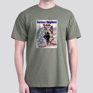 German Shepherd Gifts Dark T-Shirt
