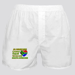 South African flag designs Boxer Shorts