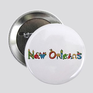"New Orleans 2.25"" Button (100 pack)"