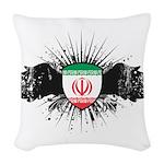Iran Woven Throw Pillow