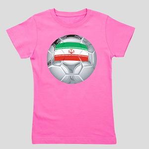 Iran Soccer Girl's Tee
