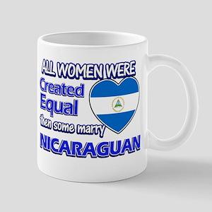 Nicaraguan flag designs Mugs