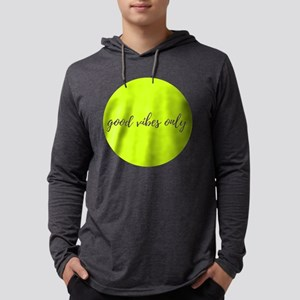 Good Vibes Only Mens Hooded Shirt