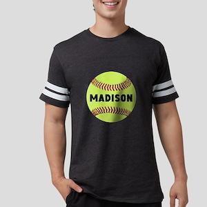 Softball Personalized Mens Football Shirt