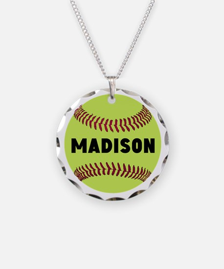 Softball Personalized Necklace