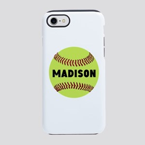 Softball Personalized iPhone 7 Tough Case