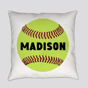 Softball Personalized Everyday Pillow