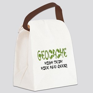Geocache Canvas Lunch Bag
