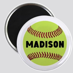 Softball Personalized Magnet