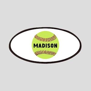 Softball Personalized Patch