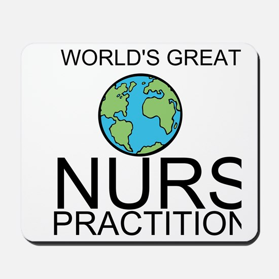 Worlds Greatest Nurse Practitioner Mousepad