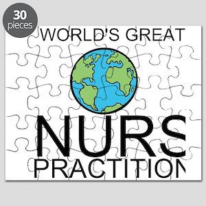 Worlds Greatest Nurse Practitioner Puzzle