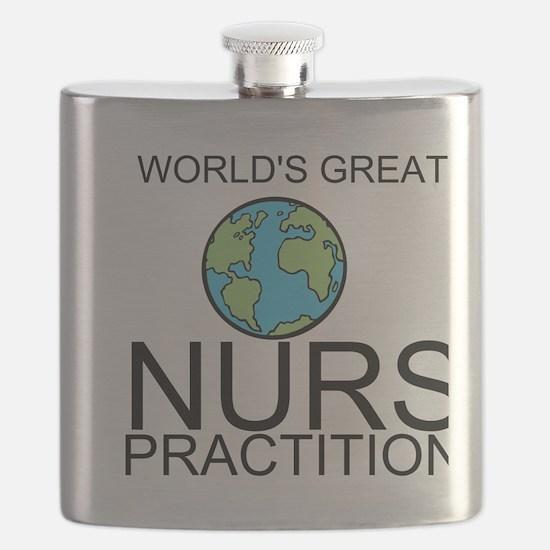 Worlds Greatest Nurse Practitioner Flask