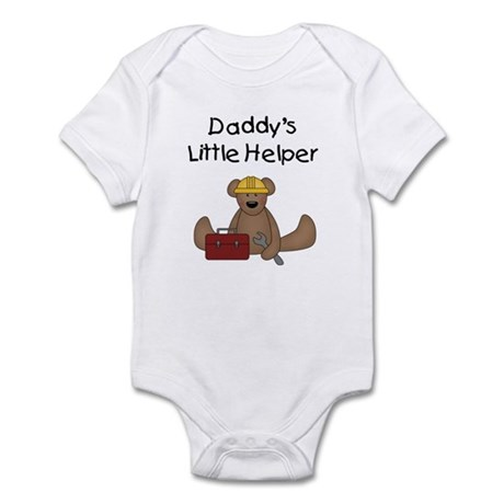 Daddy's Little Helper Infant Bodysuit